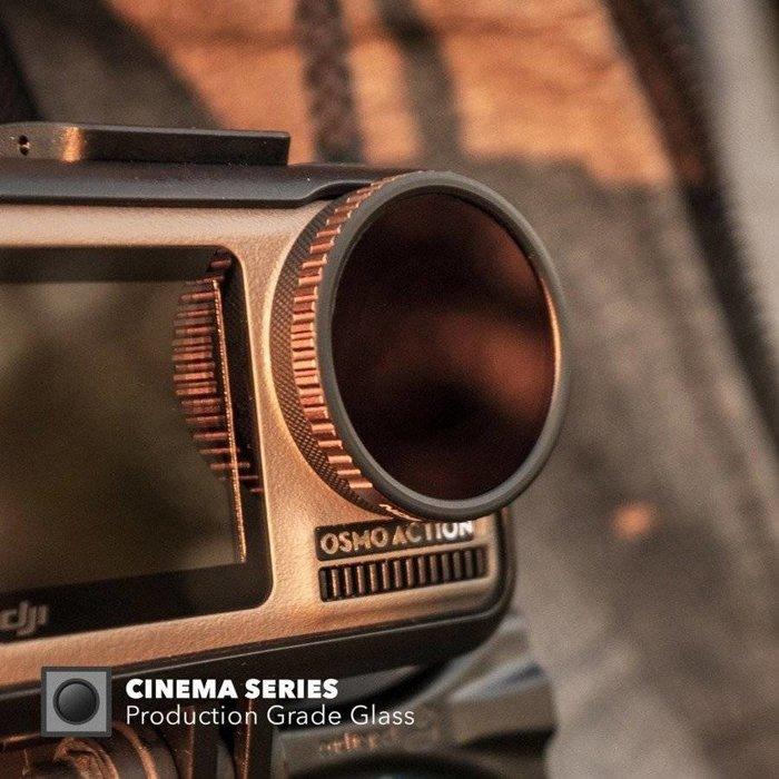 Filtr polaryzacyjny PolarPro Cinema Series do DJI Osmo Action