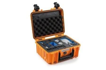 Walizka B&W typ 3000 do DJ Mavic Air 2 pomarańczowa